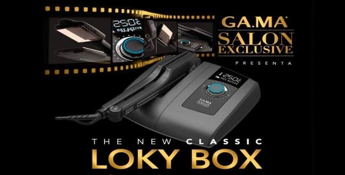 Професионална преса за коса Gama.Professional Loky Box