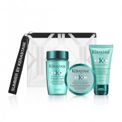 Комплект за бърз растеж и против накъсване на коса Kerastase Extentioniste Travel Set